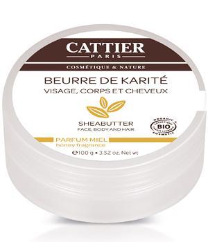 Beurre de Karité bio Miel - Cattier