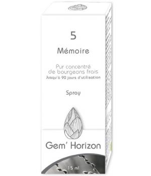Complexe de Macérâts de bourgeons frais MEMOIRE - Gem Horizon