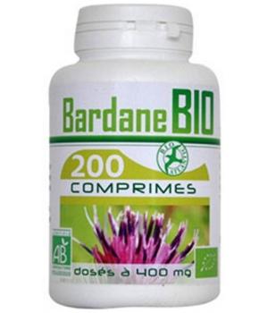 Bardane bio 400mg 200 comprimés - GPH Diffusion