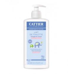 Lait de toilette bébé 500 ml - Cattier