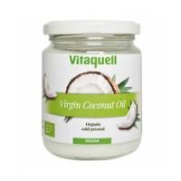 Huile de coco vierge pressée à froid vegan 200gr - Vitaquell