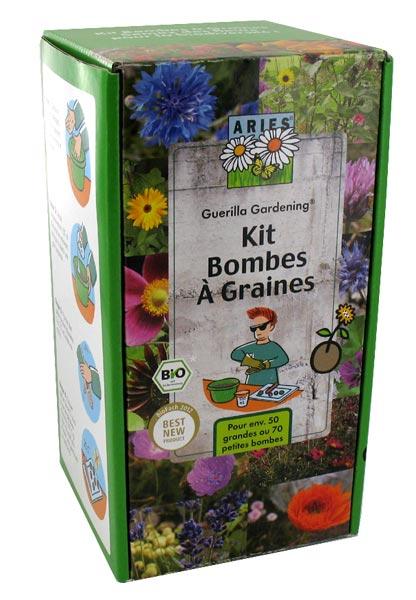 kit de fabrication pour bombes graines aries. Black Bedroom Furniture Sets. Home Design Ideas