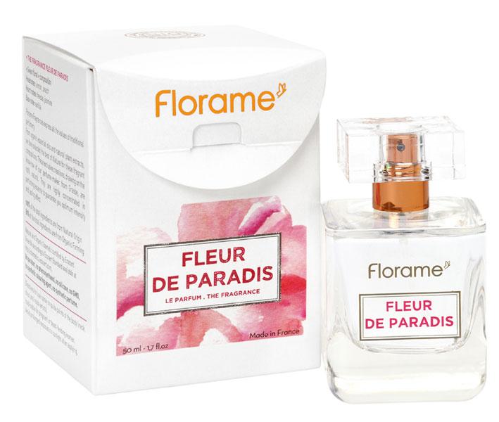 parfum bio fleur de paradis florame. Black Bedroom Furniture Sets. Home Design Ideas