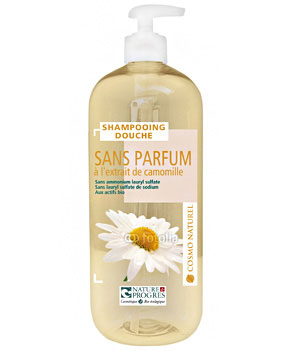 Shampooing douche sans parfum l 39 extrait de camomille - Gel douche sans sodium laureth sulfate ...