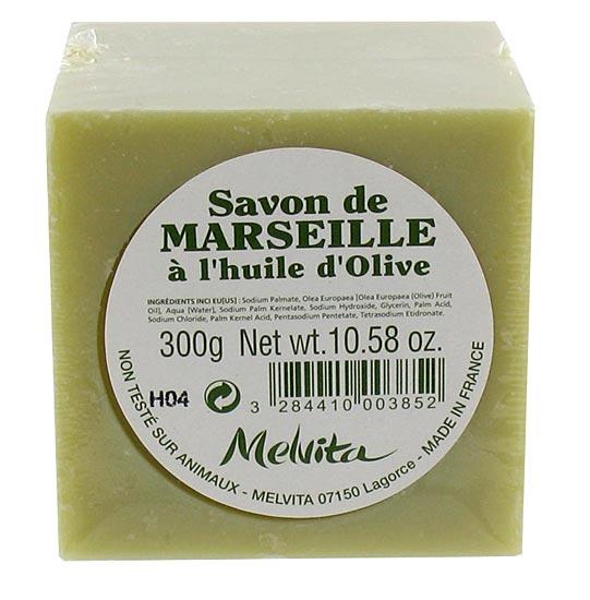 Savon de marseille l 39 huile d 39 olive melvita aromatic provence - Composition savon de marseille ...