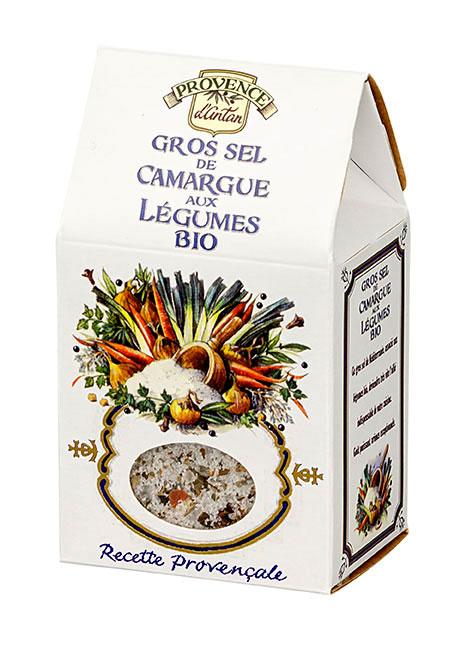Gros sel de camargue aux l gumes bio recharge provence d - Gros sel pour desherber ...