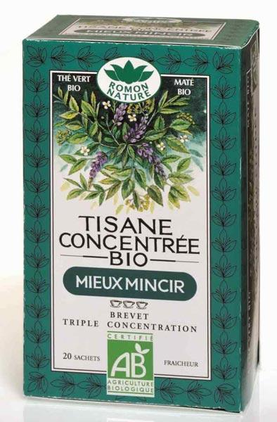 Tisane concentr e bio mieux mincir romon nature for Tisane pour mincir