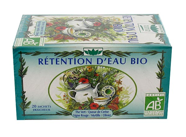 Tisane Rétention d'eau bio Romon Nature,tisane spéciale