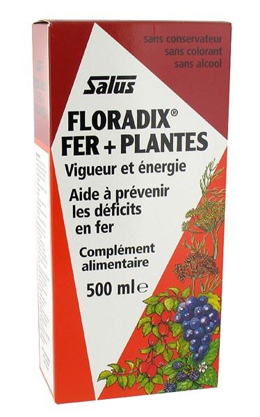 Floradix fer plantes pour carence en fer salus floradix fer plantes 500ml salus aromatic - Produit riche en fer ...