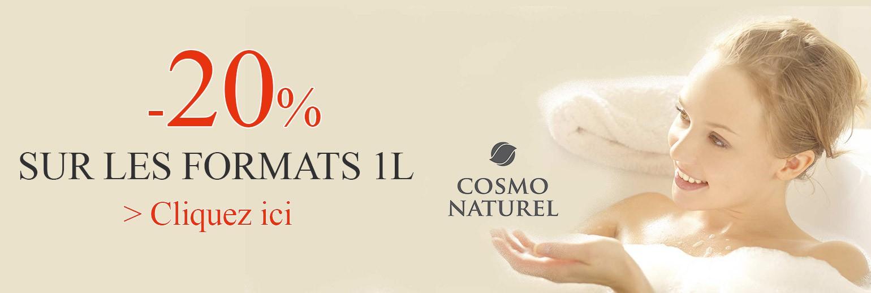 Cosmo -20% sur les formats d'un litre