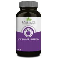 Choline Inositol 90 gélules végétales - Equi Nutri graisses mobilisées influx nerveux Aromatic provence