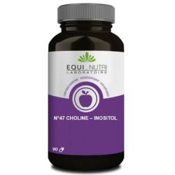 Choline Inositol 90 gélules végétales - Equi Nutri