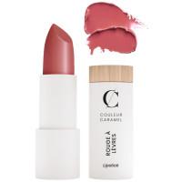 Rouge à lèvre satiné n° 234 bois de rose 3.5g - Couleur Caramel - Aromatic Provence maquillage bio