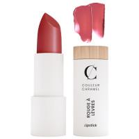 Rouge à lèvres nacré n° 238 Framboise acidulée 3.5g - Couleur Caramel - Aromatic Provence maquillage bio