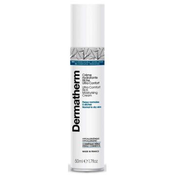 Crème hydratante riche ultra confort 50 ml - Dermatherm