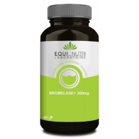 Bromelase Plus 60 gélules végétales 300mg - Equi Nutri enzyme protéolytique Aromatic provence