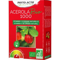 Acérola Bio 1000 AB 24 comprimés - Phyto-Actif