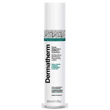Fluide régulateur matifiant hydratant 50 ml - Dermatherm