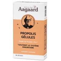 Gélules Propolin Propolis Zinc 30 gélules 250mg - Aagaard défenses naturelles Aromatic provence