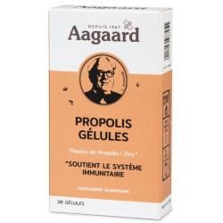 Gélules Propolin Propolis Zinc 30 gélules 250mg - Aagaard