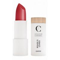 Rouge à lèvres Naturel satiné n°263 Rouge profond 3.5g - Couleur Caramel - Aromatic Provence maquillage