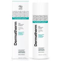 Gel nettoyant Purifiant 150 ml - Dermatherm peaux mixtes grasses eau de mélisse aloe vera Aromatic Provence