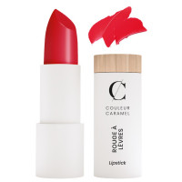 Rouge à lèvres satiné n° 280 vrai rouge 3.5g - Couleur Caramel - Aromatic Provence maquillage bio sophistiqué