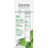 Gel sos anti boutons Menthe bio - Lavera Naturkosmetik peau acnéique Aromatic provence
