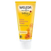 Crème protectrice visage Bébé au calendula - Weleda,   Soins pour bébé bio,  visage et corps,  Produits bio pour bébé.