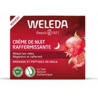 Crème de Nuit raffermissante à la Grenade 30 ml - Weleda aromatic provence