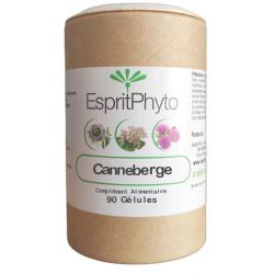 Canneberge Cranberry 90 gélules - EspritPhyto