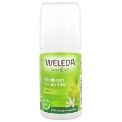 Déodorant roll on 24h Citrus 50ml - Weleda