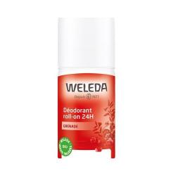Déodorant roll on 24h Grenade 50ml - Weleda