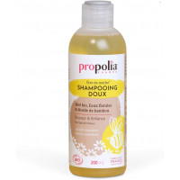 Shampoing Doux Bio être de mèche Miel Bambou 200 ml - Propolia shampooing fortifiant Aromatic provence