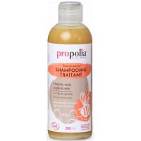Shampoing Traitant Bio Propolis Miel Argile Cade 200ml - Propolia shampooing anti pelliculaire Aromatic provence