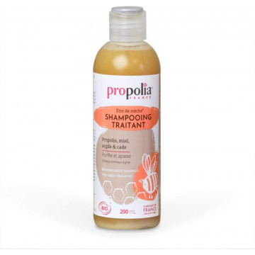 Shampoing Traitant Bio Propolis Miel Argile Cade 200ml - Propolia