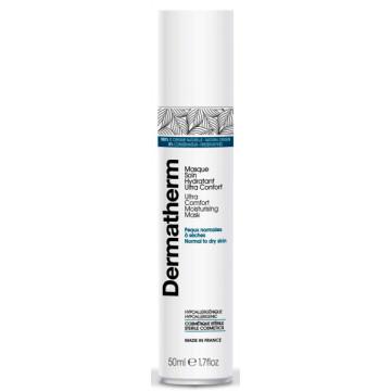Masque soin hydratant ultra confort peaux normales et sèches 50 ml - Dermatherm