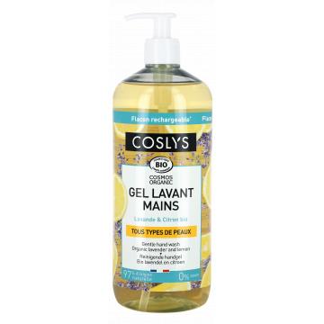 Crème lavante mains douceur Lavande Citron 1 L - Coslys