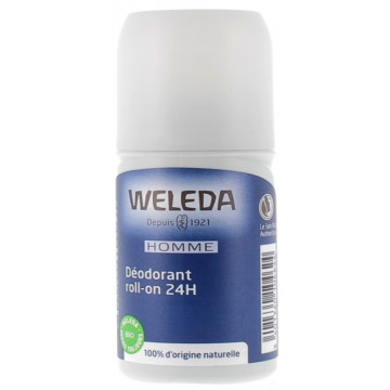 Déodorant roll on 24h Homme 50ml - Weleda