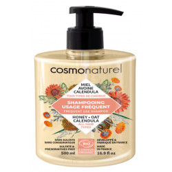 Shampooing bio Usage Fréquent 500 ml - Cosmo Naturel