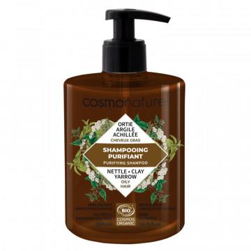 Shampooing bio Cheveux gras 500 ml - Cosmo Naturel