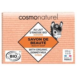 Savon végétal au lait d'ânesse Agrumes - Cosmo Naturel