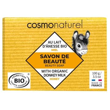 Savon au lait d'ânesse au Miel sans parfum - Cosmo Naturel