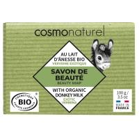 Savon végétal au lait d'ânesse Verveine - Cosmo Naturel,   Savons bio,  Aromatic Provence.