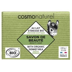 Savon végétal au lait d'ânesse Verveine - Cosmo Naturel
