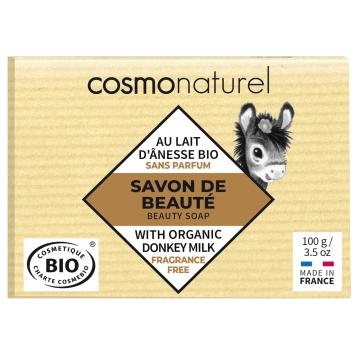 Savon au lait d'ânesse Karité sans parfum - Cosmo Naturel