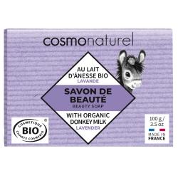 Savon végétal au lait d'ânesse Lavande - Cosmo Naturel