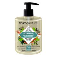 Cosmo Naturel Shampooing bio Cheveux secs Karité Jojoba Aloe 500 ml -Aromatic Provence