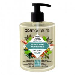 Shampooing bio Cheveux secs Karité Jojoba Aloe 500 ml - Cosmo Naturel