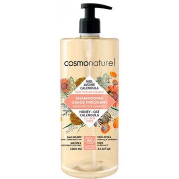 Shampooing bio Usage Fréquent 1 litre - Cosmo Naturel